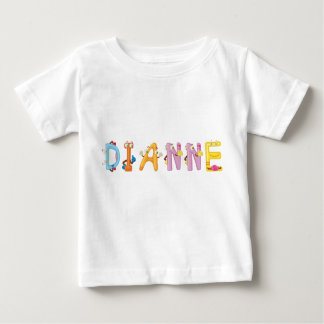 Camiseta del bebé de Dianne