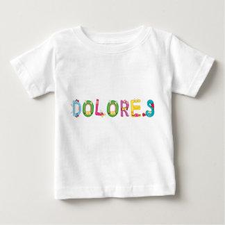 Camiseta del bebé de Dolores