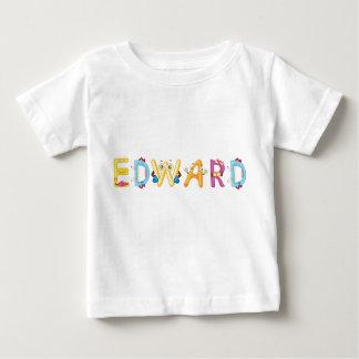 Camiseta del bebé de Edward