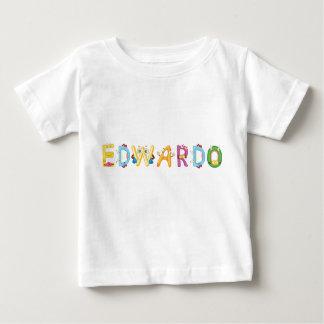 Camiseta del bebé de Edwardo
