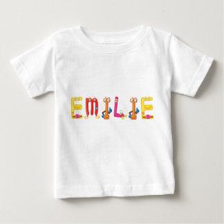 Camiseta del bebé de Emilie