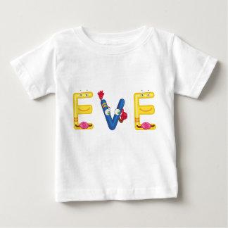 Camiseta del bebé de Eve