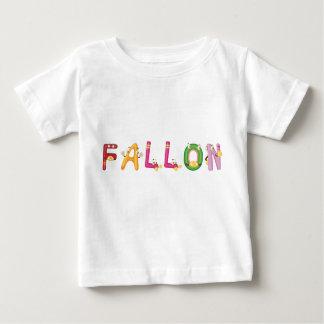 Camiseta del bebé de Fallon
