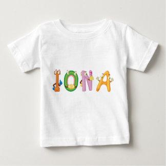 Camiseta del bebé de Iona