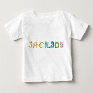 Camiseta del bebé de Jackson