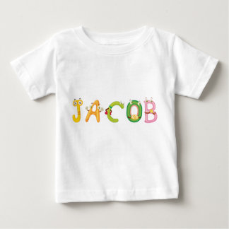 Camiseta del bebé de Jacob