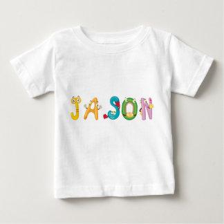 Camiseta del bebé de Jason