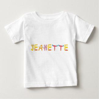 Camiseta del bebé de Jeanette