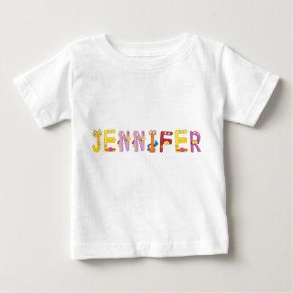 Camiseta del bebé de Jennifer