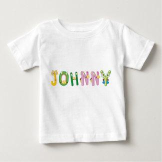 Camiseta del bebé de Johnny
