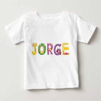 Camiseta del bebé de Jorge