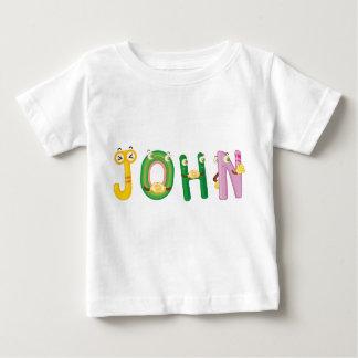 Camiseta del bebé de Juan