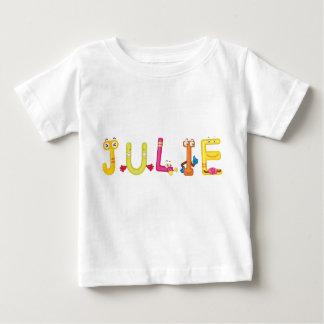Camiseta del bebé de Julia