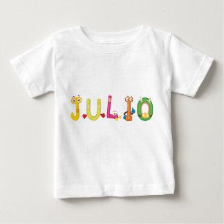 Camiseta del bebé de Julio
