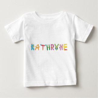 Camiseta del bebé de Kathryne