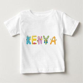 Camiseta del bebé de Kenia