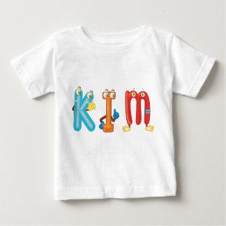 Camiseta del bebé de Kim