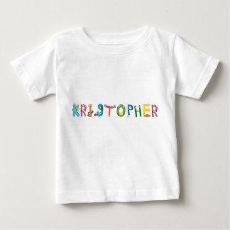 Camiseta del bebé de Kristopher