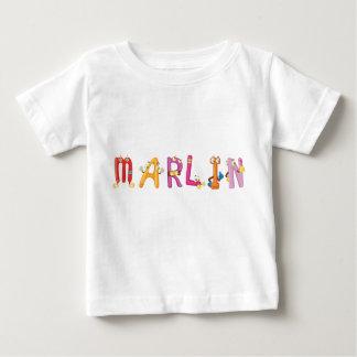 Camiseta del bebé de la aguja