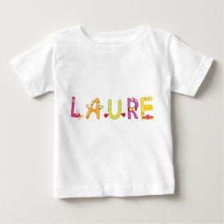 Camiseta del bebé de Laura