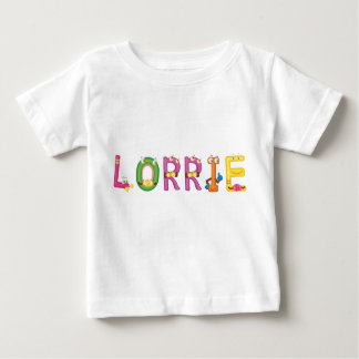 Camiseta del bebé de Lorrie