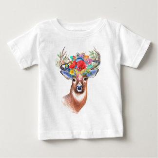 Camiseta del bebé de los ciervos el | de Boho
