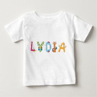 Camiseta del bebé de Lydia