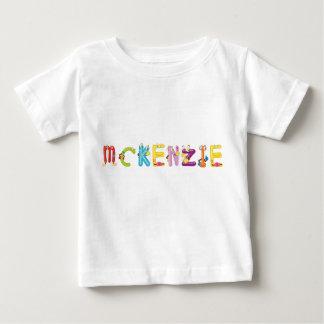 Camiseta del bebé de Mckenzie