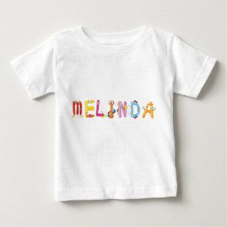 Camiseta del bebé de Melinda