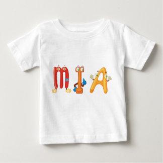 Camiseta del bebé de Mia
