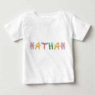 Camiseta del bebé de Nathan