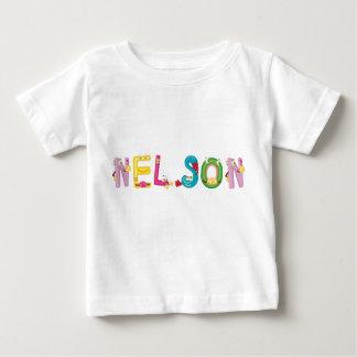 Camiseta del bebé de Nelson