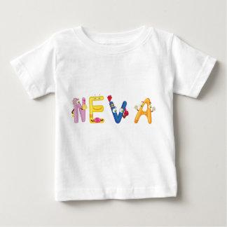 Camiseta del bebé de Neva