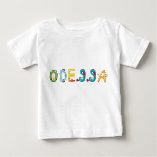 Camiseta del bebé de Odessa