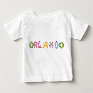 Camiseta del bebé de Orlando