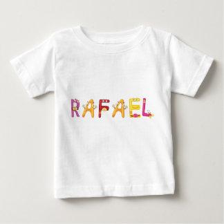 Camiseta del bebé de Rafael