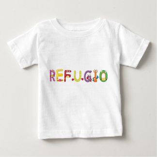 Camiseta del bebé de Refugio