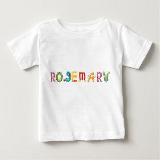 Camiseta del bebé de Rosemary