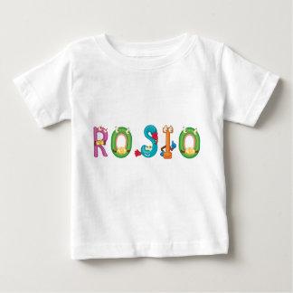 Camiseta del bebé de Rosio