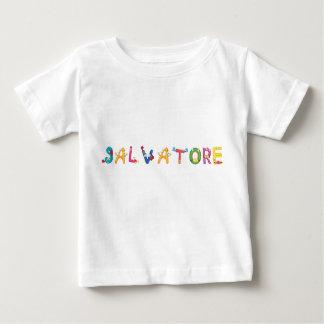 Camiseta del bebé de Salvador