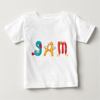 Camiseta del bebé de Sam