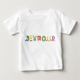 Camiseta del bebé de Seymour