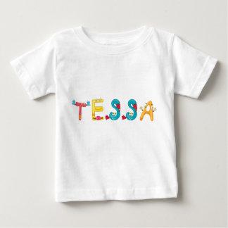 Camiseta del bebé de Tessa