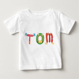 Camiseta del bebé de Tom