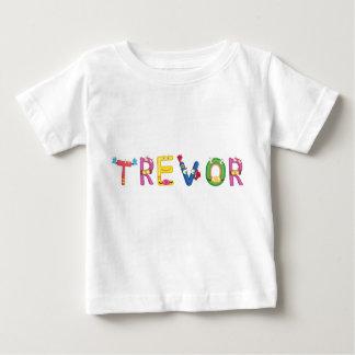 Camiseta del bebé de Trevor