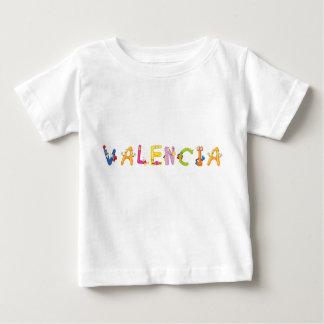 Camiseta del bebé de Valencia