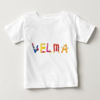 Camiseta del bebé de Velma