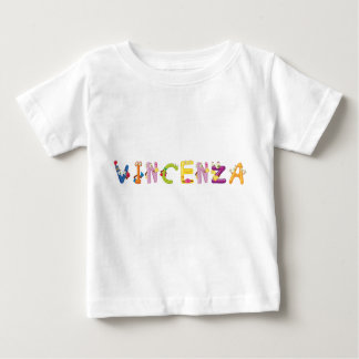 Camiseta del bebé de Vicenta