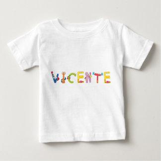 Camiseta del bebé de Vicente