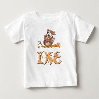 Camiseta del bebé del búho de Ike